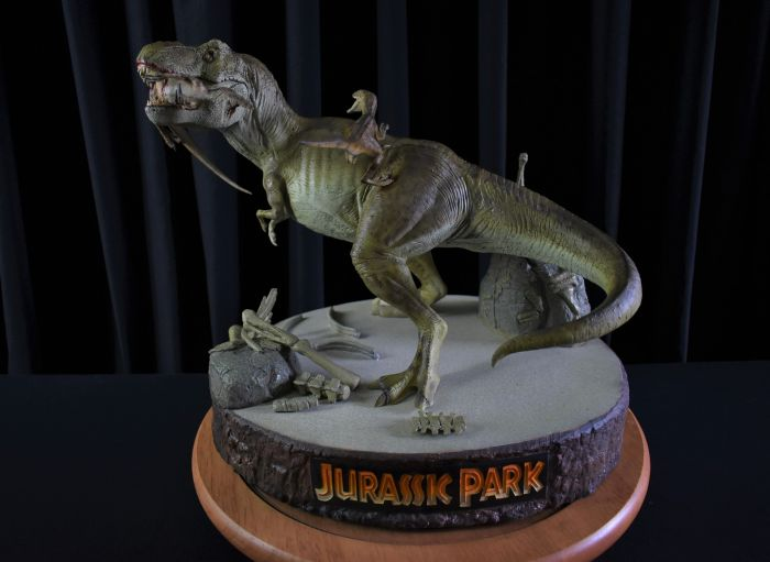 "Sideshow Jurassic Park ""When Dinosaurs Ruled the Earth"" Dioráma"