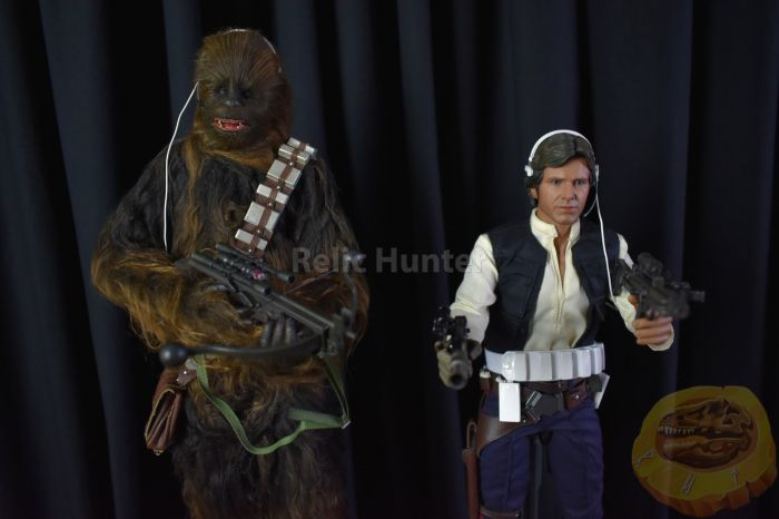 Hot Toys Han Solo & Chewbacca Deluxe Edition bemutató